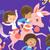 La licorne et les enfants